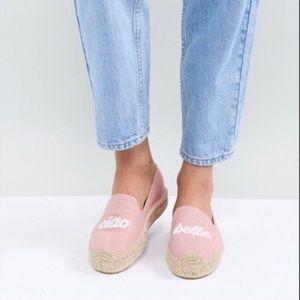 "SOLUDOS ""Ciao Bella"" Anthro Shoes Espadrilles 9"